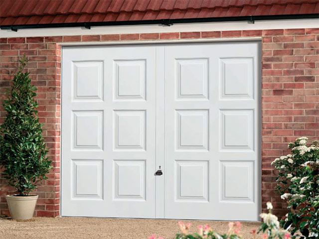 Upvc garage door gregor muirhead joiners and building for Upvc garage doors